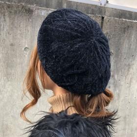 ベレー帽 - CELL モールベレー帽 モールニット 帽子 小物 服飾雑貨 2018秋冬新作
