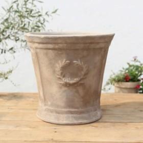 植木鉢 テラコッタ おしゃれ クラシーカップ アンティーク NP-A11 Sサイズ 幅33cm×高さ29cm