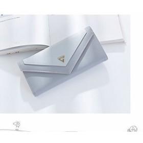 長財布 レディース 二つ折り 革 おしゃれ 財布 小銭入れ 高級 PUレザー ラウンドファスナー ボタン 取り出しやすい 大容量