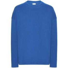 《セール開催中》8 by YOOX メンズ T シャツ ブライトブルー S 再生コットン 100%
