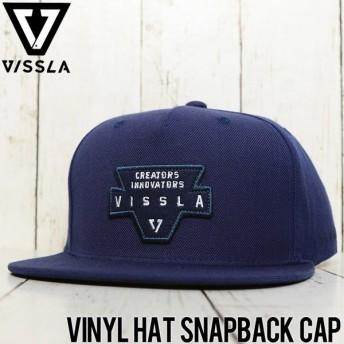 VISSLA ヴィスラ VINYL HAT SNAPBACK CAP スナップバックキャップ MAHTJVIN DNL