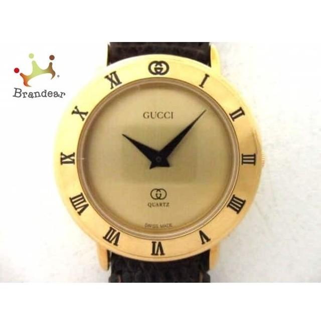 f800b95547a1 グッチ GUCCI 腕時計 3001L レディース ゴールド スペシャル特価 20190408