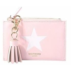 財布 レディース 小銭入れ コインケース カードケース 小さい財布 人気 可愛い 星柄 フリンジ