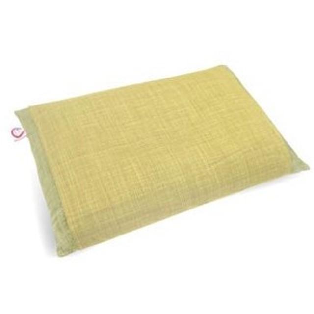 モリシタ 和のここち 日本製そばまくら 35×50cm(イエロー) そばがら 4620194 返品種別A