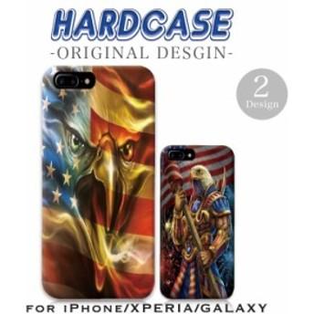 iPhoneX/XS/XSMax/XR iPhone8/8Plus iPhone7/7Plus ハードケース スマホ アメリカ 鷹 ホワイト・イーグル 国鳥