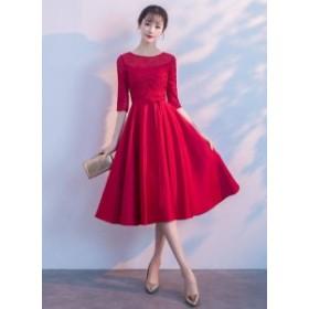 結婚式 ドレス お呼ばれ ワンピース 30代 20代 パーティードレス 結婚式二次会 30代ドレス 結婚式ドレス お呼ばれドレス