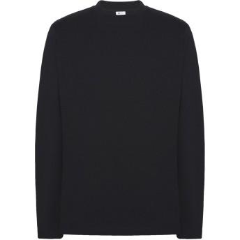 《期間限定セール開催中!》8 by YOOX メンズ T シャツ ブラック S 再生コットン 100%
