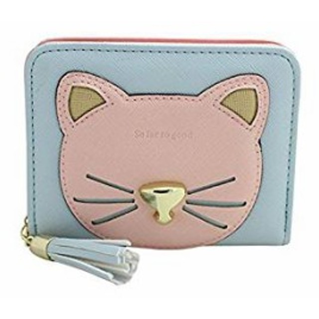 3b1dc8bce4e4 財布 レディース 小銭入れ コインケース カードケース 小さい財布 人気 可愛い ミニ財布 猫 フリンジ