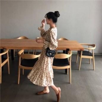 レディース ガウンシャツワンピース 花柄 着回しコーデ 重ね着コーデ ママの味方 大人カワイイ