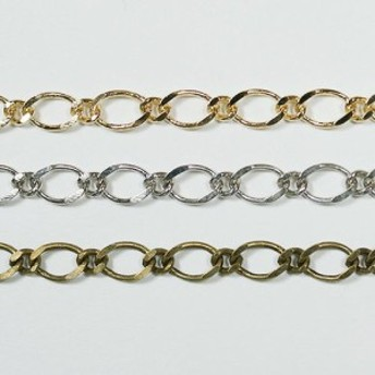 チェーン N-702 1m ゴールド ロジウム シルバー アンティーク 古美 メッキ 真鍮 金