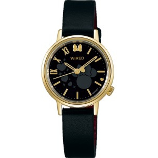 9df10ea017 【正規品】WIRED ワイアード 腕時計 AGEK744 レディース ミッキーマウス スクリーンデビュー90周年デザイン