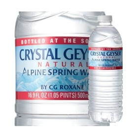 クリスタルガイザー ( 500mL48本入 )/ クリスタルガイザー(Crystal Geyser) ( 水 ミネラルウォーター 500ml 48本ケース )