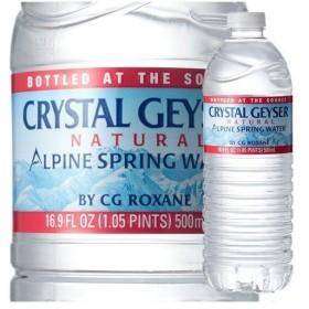 クリスタルガイザー 水 ( 500mL48本入 )/ クリスタルガイザー(Crystal Geyser) ( 水 ミネラルウォーター 500ml 48本入 )