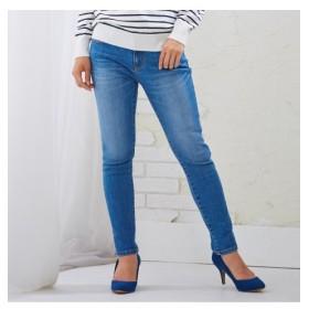 小さいサイズ 【新色追加】すごく伸びるデニムスキニーパンツ 【小さいサイズ・小柄・プチ】パンツ, Pants, 子, 子