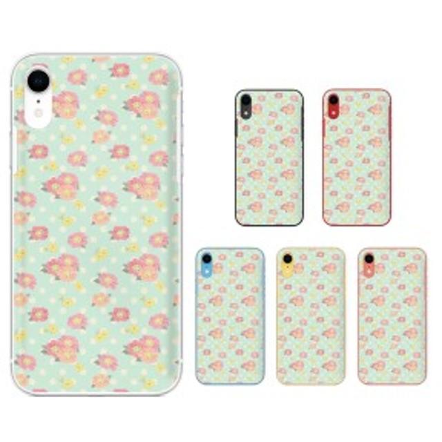 9edca00da0 Apple iPhone XR アイフォン スマホ ケース カバー 花柄36 ドット 黄緑 ...