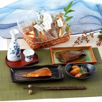 送料無料 【本格和惣菜】職人の味をお届け! 伊達な煮魚セット(5種×各2P)