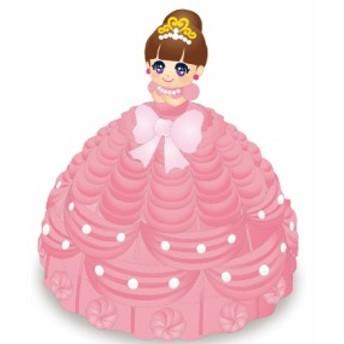 スクイーズ☆東京ベーカリー プリンセス姫スイート ドレスケーキ スクイーズ【メール便不可】