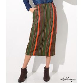 【セール開催中】ANAP(アナップ)ストライプジャガードラップタイトスカート