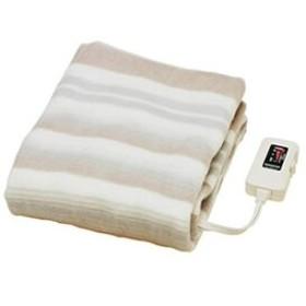 電気毛布 洗える シングル 敷タイプ 椙山紡織 NA-023S ダニ退治 室温センサー付 頭寒足熱 おしゃれ