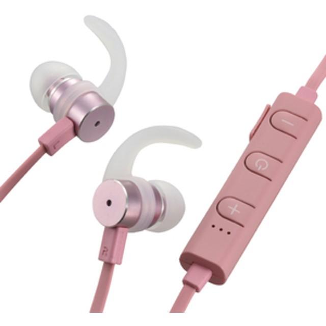 オーム電機ワイヤレスステレオインナーフォンAudioCommピンクHP-W170N-P