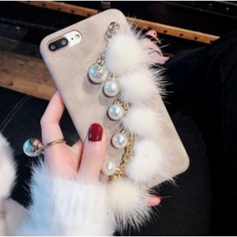 iPhoneケース 耐衝撃 軽量 iPhone7 plus ケース 可愛い毛玉 カバー おしゃれ 韓国 アイホンケース 女子017