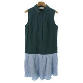 MademoiselleTARA / マドモアゼル タラ レディース ワンピース 色:緑 サイズ:38(S位)