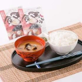 送料無料 新鮮な宍道湖産大和しじみを使った 食べるしじみ1食用味噌汁セット