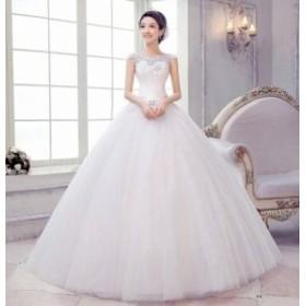 ドレス ワンピース レース ロング丈 30代 ホワイト 上品 結婚式 お呼ばれ 春夏 a163