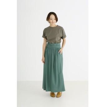 Munich / ミューニック クールジャージーギャザースカート