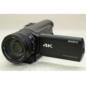 [中古] デジタル4Kビデオカメラレコーダー ハンディカム FDR-AX100