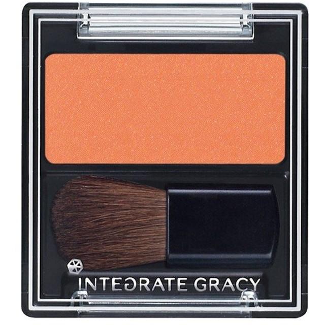 《資生堂》 インテグレート グレイシィ チークカラー オレンジ300 2g