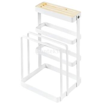 キッチン収納ラック カッティングボード ナイフ カトラリー ホルダー ラック 耐久性