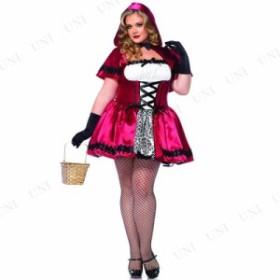 コスプレ 仮装 ゴシック赤ずきん 1X-2X コスプレ 衣装 ハロウィン 仮装 余興 大人 コスチューム 女性 大きいサイズ レディース 赤ずきん