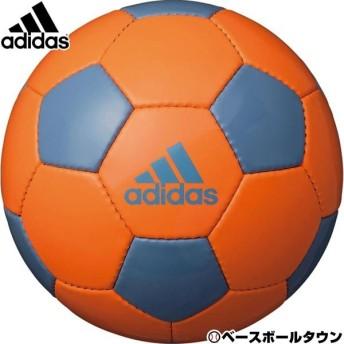 アディダス サッカーボール EPP グライダー 5号球 ハイレスオレンジ×アッシュブルー AF5641OB