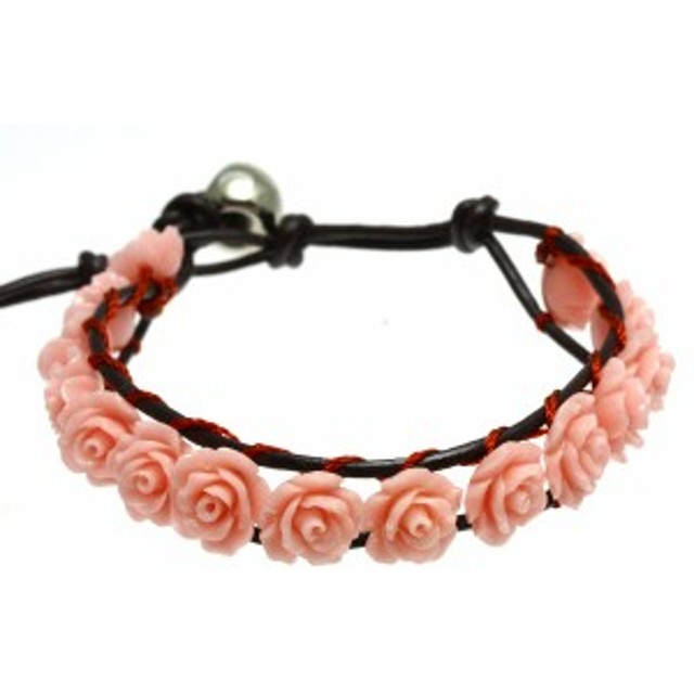 【ブレスレット】センティピードブレスレット 薔薇 ピンク珊瑚 コーラルブレス パワーストーン プチギフト 転勤 退職 お礼 お祝い 誕生日