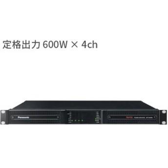 WP-DM924 パナソニック 音響設備 600 W × 4ch 高機能DSP内蔵デジタルパワーアンプ