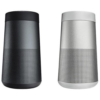 BOSE Bluetoothスピーカー SoundLink Revolve 2個セット ブラック/ラックスグレイ SLINKREVOLVEBLK+GRY [SLINKREVOLVEBLK+GRY]