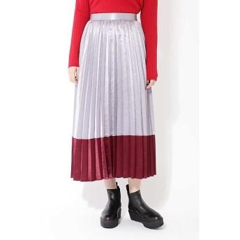 ROSE BUD / ローズ バッド ロングプリーツスカート