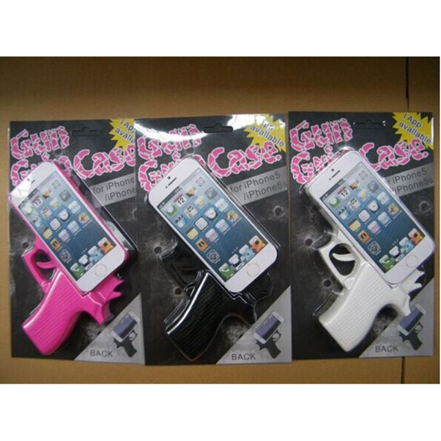 ▲送料無料!ピストル型iPhoneケース かわいいiPhone6、6S(4.7インチ) ケース アイフォンカバー スマホケース ダイアリーケース バンパー 携帯ケース アイホン6 アイホン6カバー ピストル