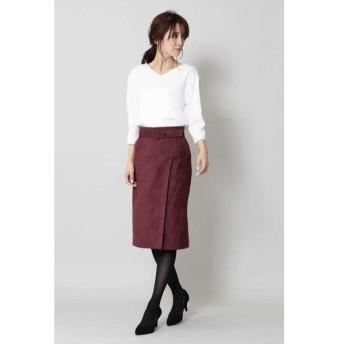 BOSCH / ベルト付スエードスカート