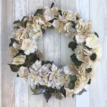 winter wreath/アンティーク