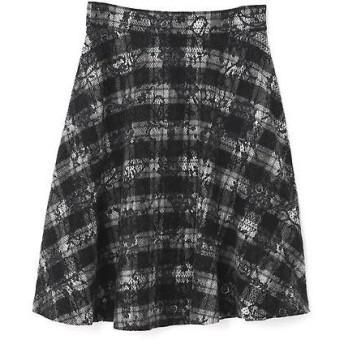 PROPORTION BODY DRESSING / プロポーションボディドレッシング  ニードルレースフレアースカート