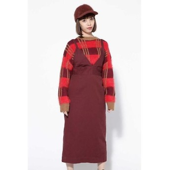 ROSE BUD / ローズ バッド ロング丈ジャンパースカート