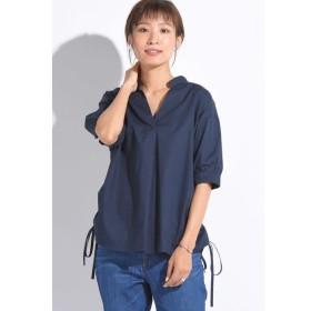 MAYSON GREY / マオカラー袖パフシャツ