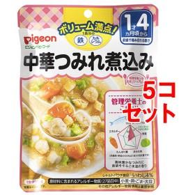 ピジョンベビーフード 1食分の鉄Ca 中華つみれ煮込み (120g5コセット)