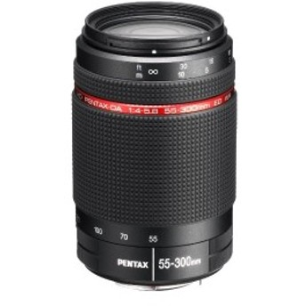 PENTAX 望遠ズームレンズ HD PENTAX-DA55-300mmF4-5.8ED Kマウント APS-Cサイズ 22270 中古 良品
