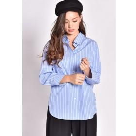 MAYSON GREY / 【洗濯機OK】タイプライターロング抜け衿シャツ