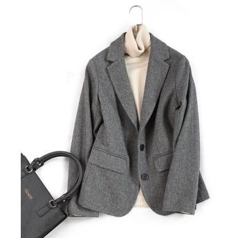 入学式 卒業式 スーツ テーラードジャケット 長袖 アウター リクルート レディース ビジネス 大きいサイズ フォーマル 入園式STF0737