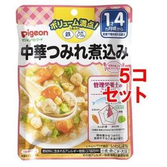 ピジョンベビーフード 1食分の鉄Ca 中華つみれ煮込み ( 120g5コセット )/ 食育レシピ
