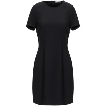 《セール開催中》RUE8ISQUIT レディース ミニワンピース&ドレス ブラック 42 ポリエステル 89% / ポリウレタン 11%